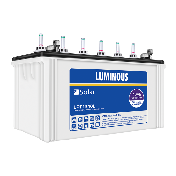 Order Lpt 1240l Online Solar Batteries Luminous India