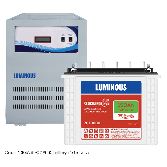Combo - Home UPS 10 kVA Cruze+ & Battery 150 Ah RC18000