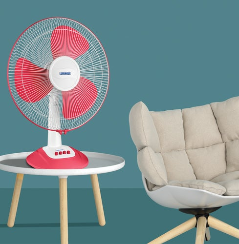 How to assemble table fan