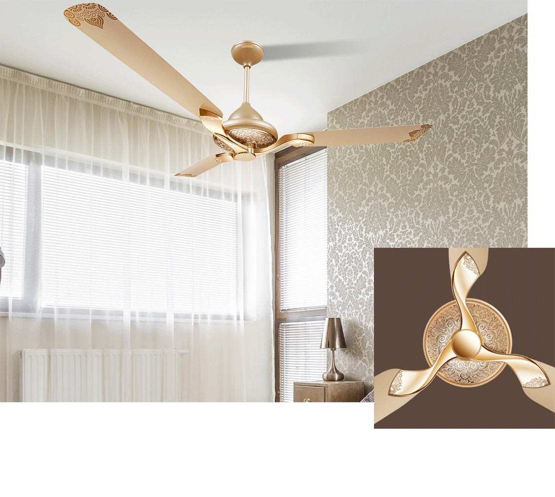 Best Designer Fans फ न Online In India From India S Leading Brand Luminous India